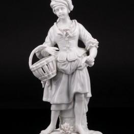 Девушка с корзиной, Дрезден, Германия, пер. пол. 20 в