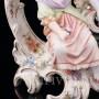 Фарфоровые Рокальные подсвечники с фигурками мужчины и женщины, E & A Muller (Schwarza-Saalbahn), Германия, кон. 19 - нач. 20 вв.