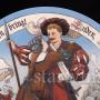 Фарфоровое блюдо После сражения, Villeroy & Boch, Mettlach, Германия, 1898 г