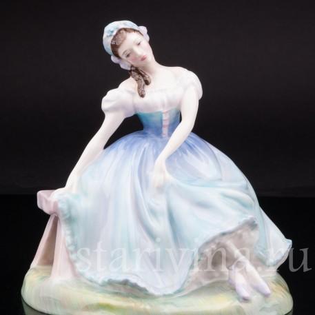 """Статуэтка балерины """"Жизель"""", Royal Doulton, Великобритания, 1953 год."""