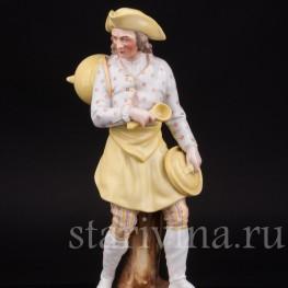 Фарфоровая статуэтка мужчины Повар, Дрезден, Германия,, 19 в.