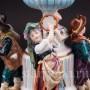Фарфоровая композиция Уличные музыканты, Volkstedt, Германия, кон. 19 - нач. 20 вв.