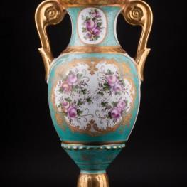 Высокая ваза с крышкой, Франция, пер. пол. 20 в